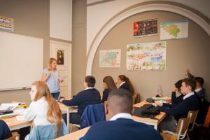 International school Brussels teaching