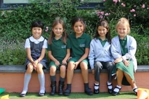 St. John's International School children