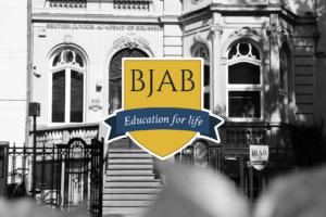 école internationale BJAB entrée de l'école