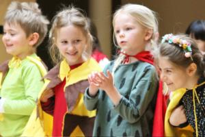 British School of Brussels theatre enfant