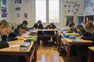 International School Brussels classroom