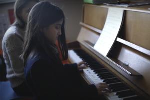 International School piano