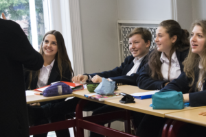Montgomery International School pupils